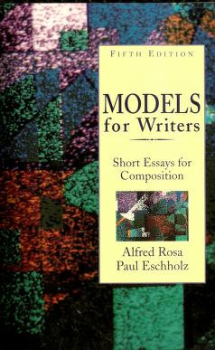 Cover of: Models for Writers   Alfred Rosa