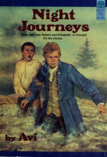 Cover of: Night journeys | Avi