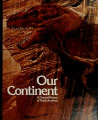 Cover of: Our Continent |