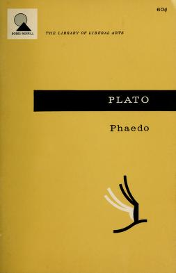 Cover of: Phaedo | Plato