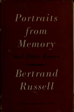 Cover of: Portraits from memory | Bertrand Russell