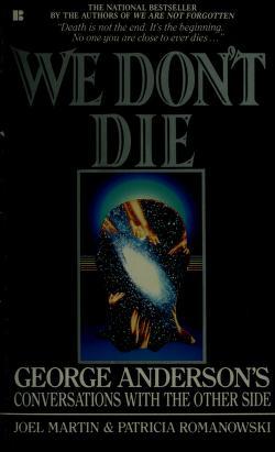 Cover of: We Don't Die | Joel Martin, Patricia Romanowski